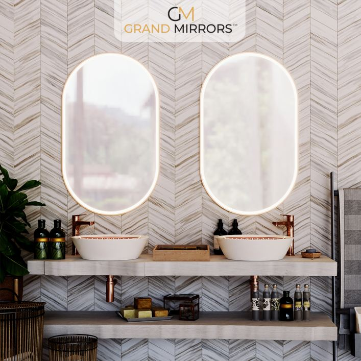 Grand Mirrors ALLURE in Oval