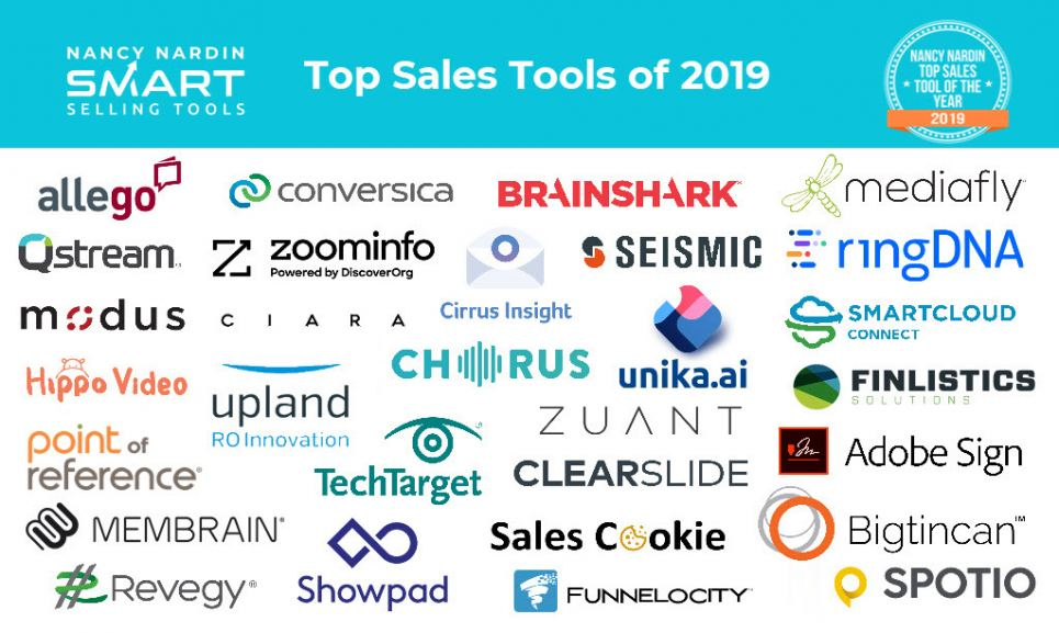 Top Sales Tools of 2019