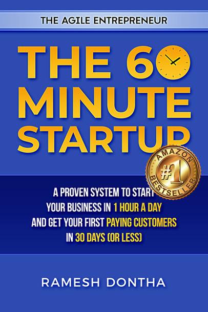 The 60 Minute Startup - Amazon Bestseller