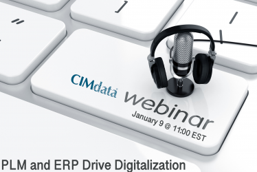 CIMdata webinar for January: PLM and ERP Drive Digitalization