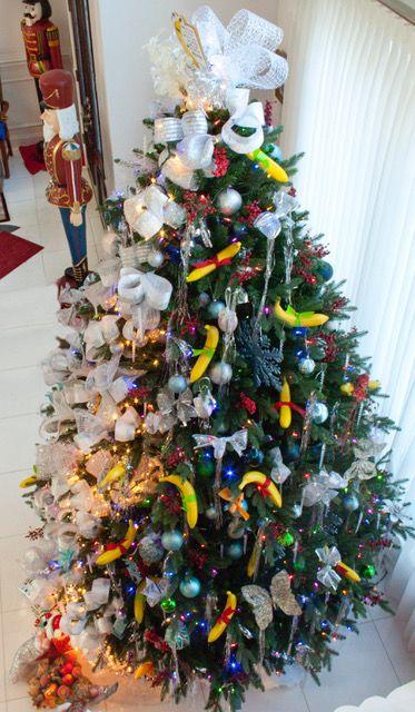 Christmas Banana Tree