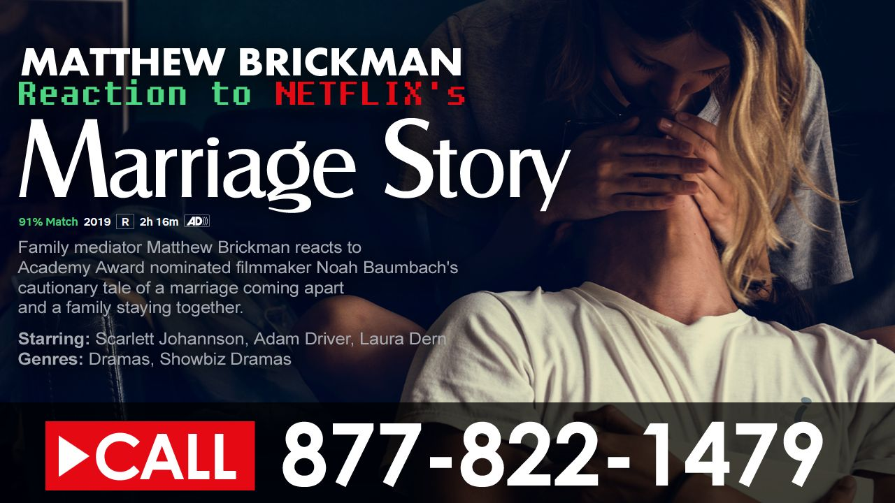 Netflix - Marriage Story - Review by Matthew Brickman