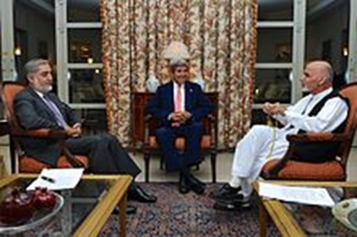 Afghanistan election candidates