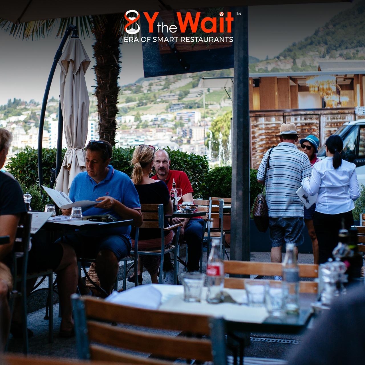 Y the Wait - Digital Waiter App - Food Ordering