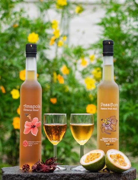 Passiflora & Amapola Honey Wine from Costa Rica Meadery