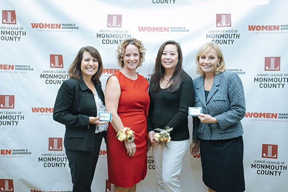 From left: Vivian Martinez, Lauren Holman, Elga Chen-Hill and Kim Guadagno.