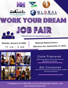 Work Your Dream Jan 2020