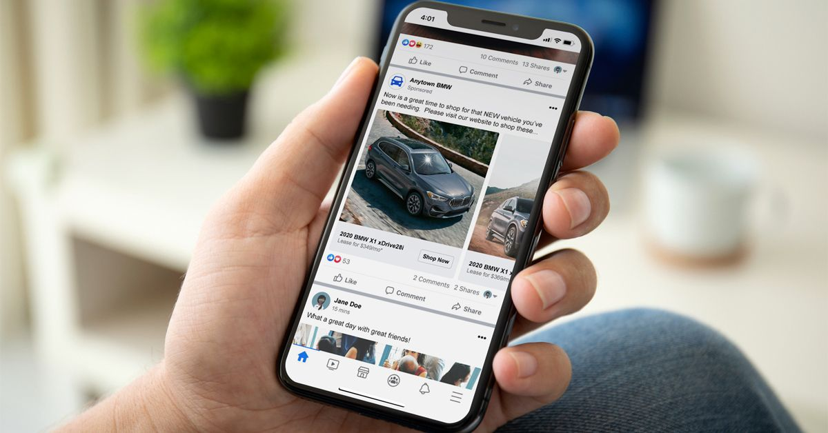 BMW dealerships can use the MPOP® to advertise their inventory on Googl