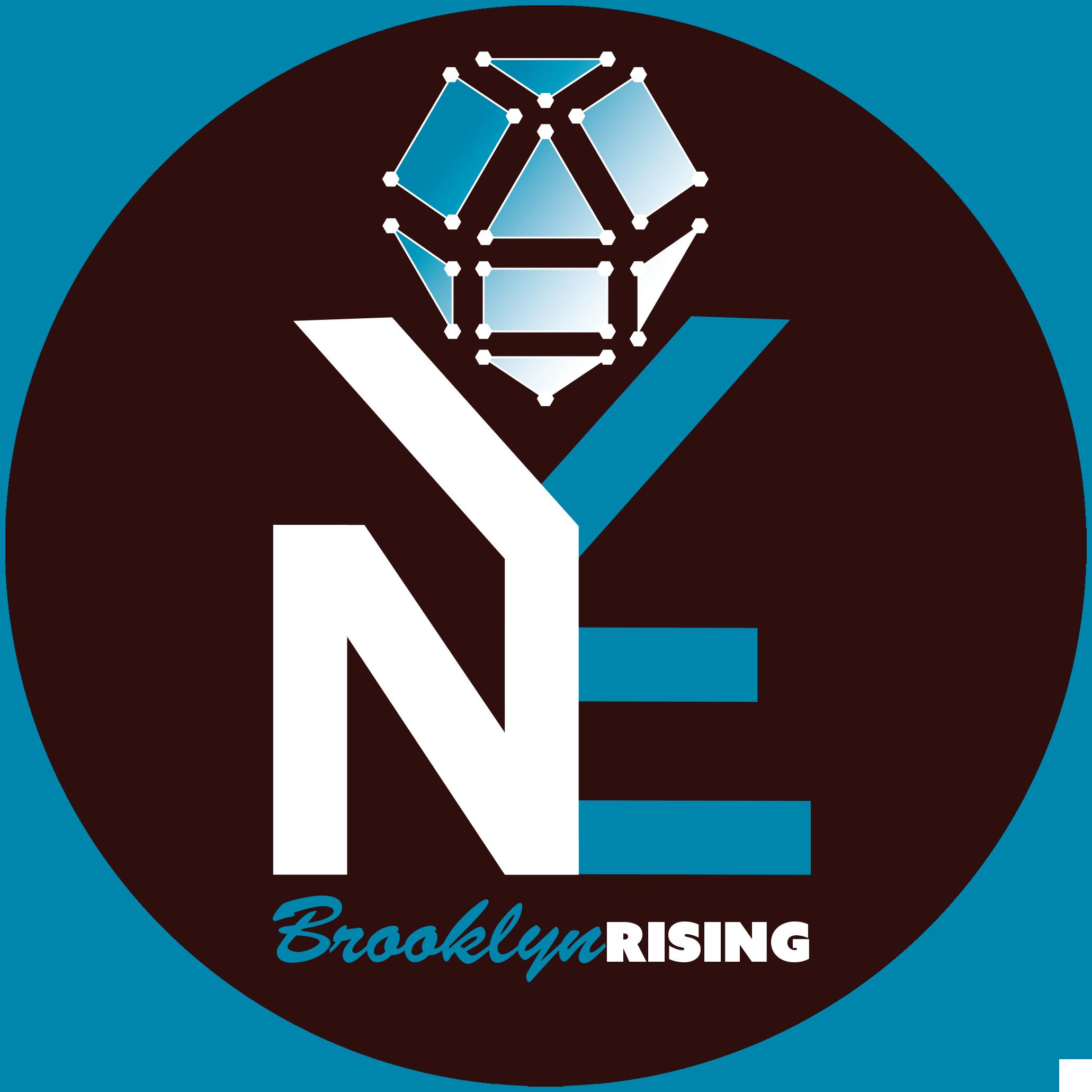 Brooklyn Rising Social Media Logo