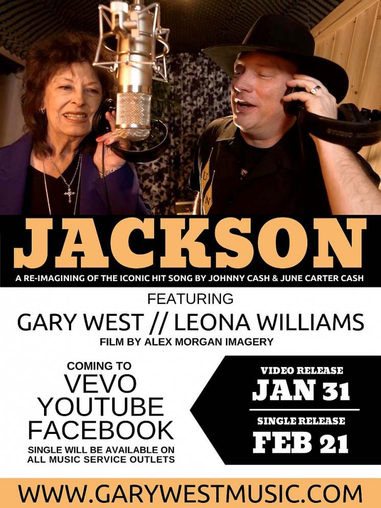 GARY WEST AND LEONA WILLIAMS JACKSON RELEASE