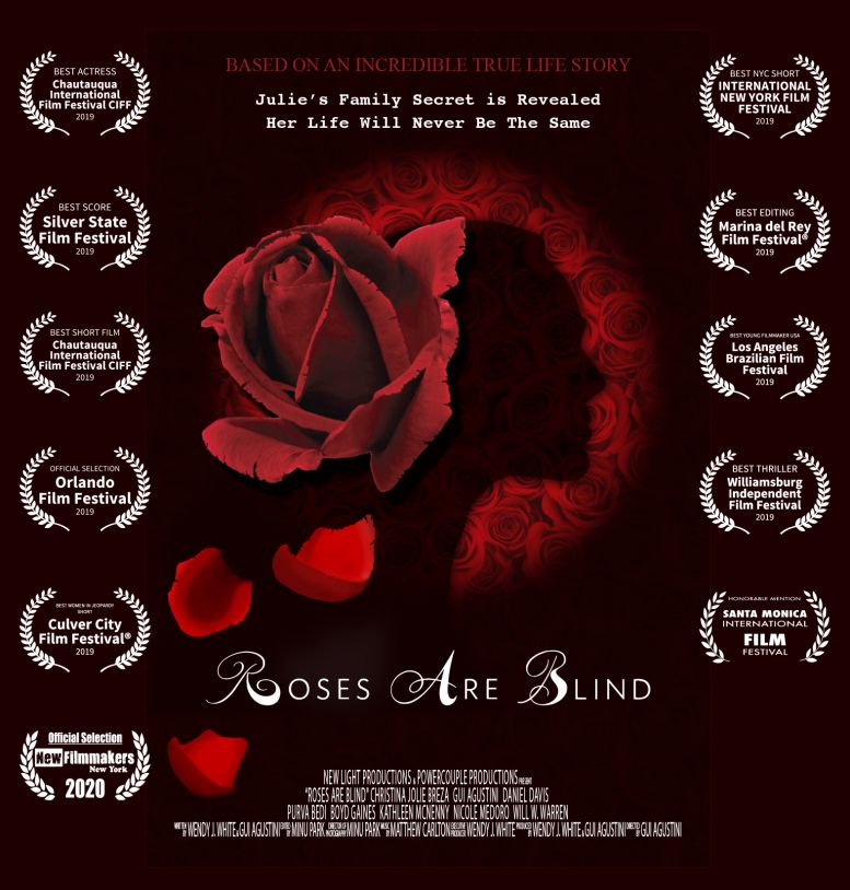 Roses are Blind - East Village Debut NewFilmmakers NY Film Festival Jan. 15 2020