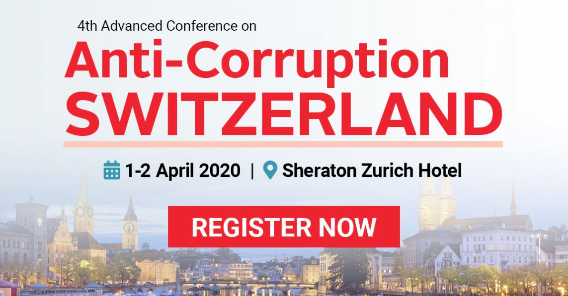 Anti-Corruption & Compliance Forum Switzerland, April 1-2, 2020
