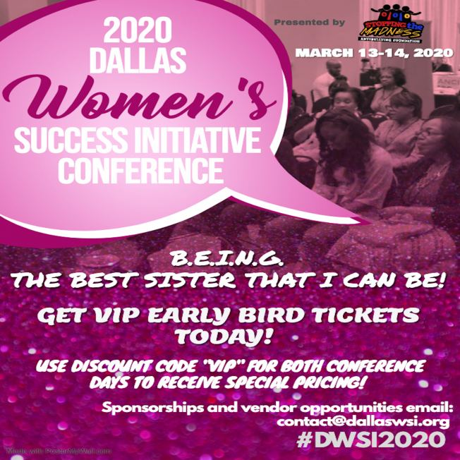 DWSI 2020 Conference Event Flyer -