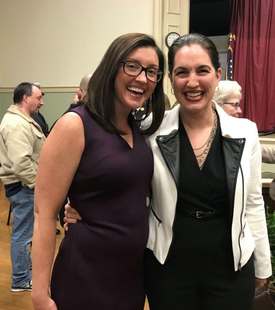 Mayor Kassandra Gove & Jamie Zahlaway Belsito