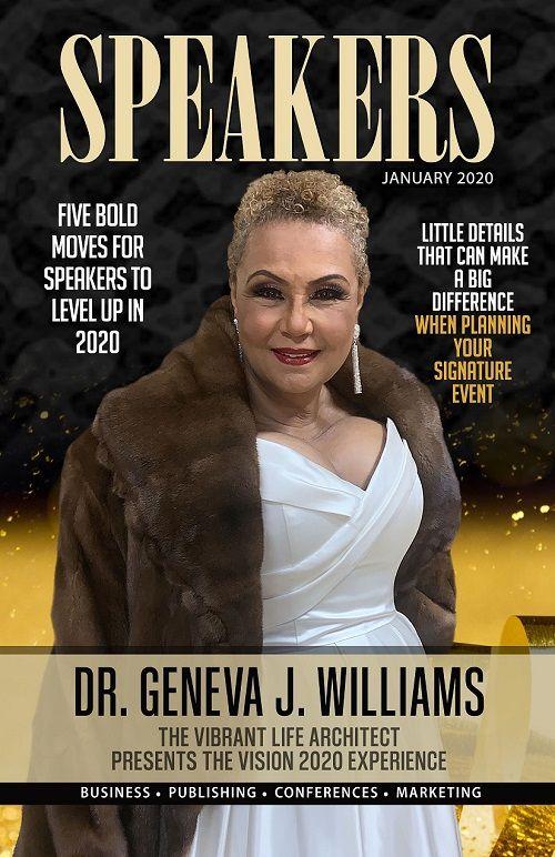 Dr. Geneva Williams Presents Vision 2020