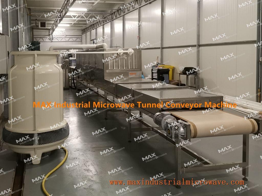 Conveyor Tunnel Microwave Machine