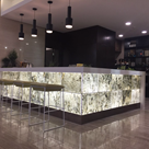 counter led backlit sheet