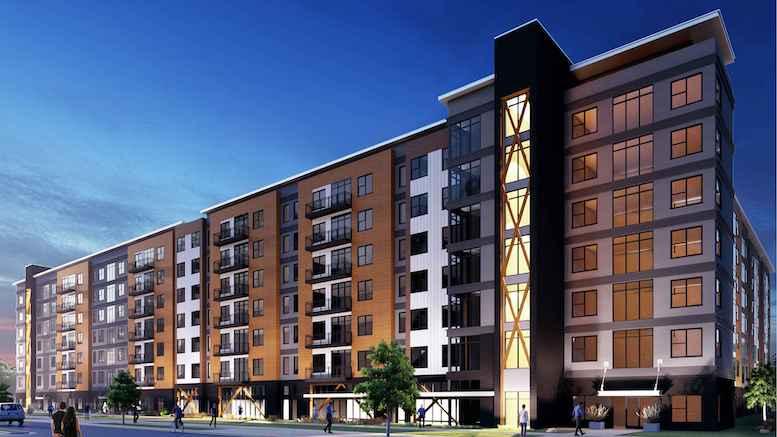 Aptitude Development has started construction on The Marshall Arkansas.