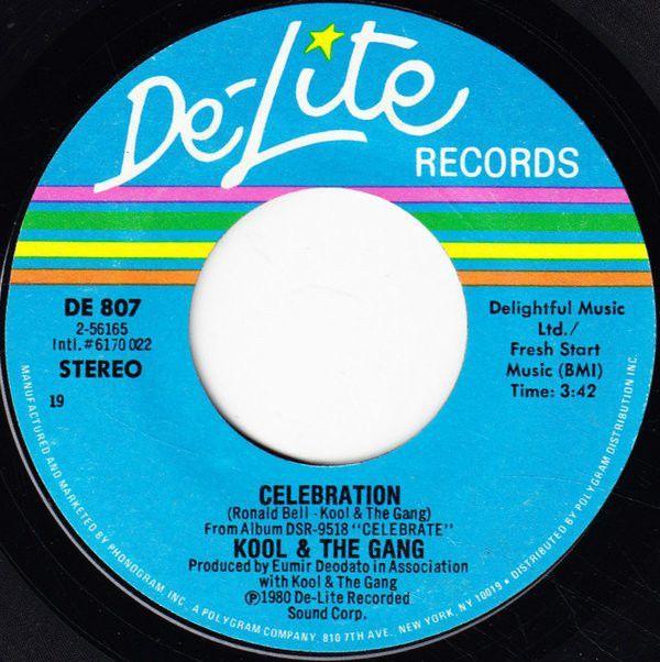 """""""Celebration"""" 45 single"""