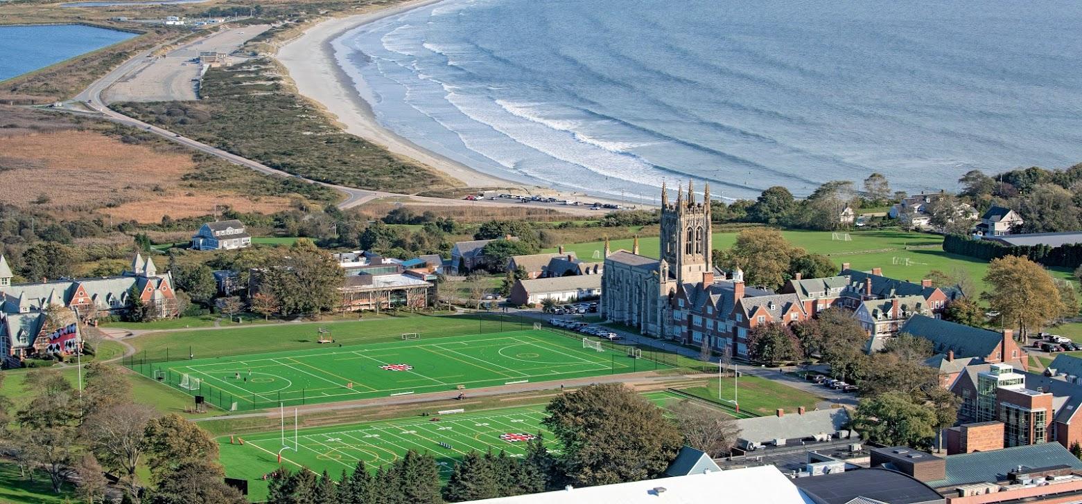 St. George's School Campus Overlooking The Atlantic Ocean