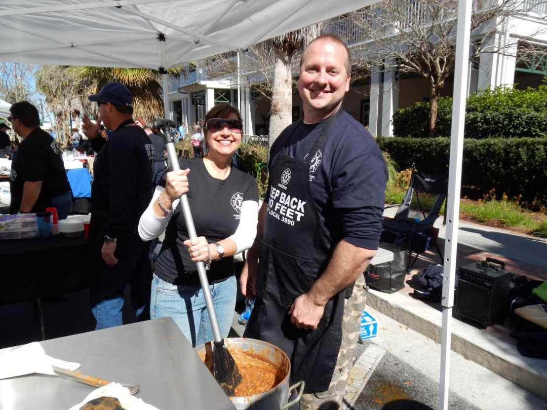 The Lake County Firefighters Charity Chili Cookoff and BBQ Competition
