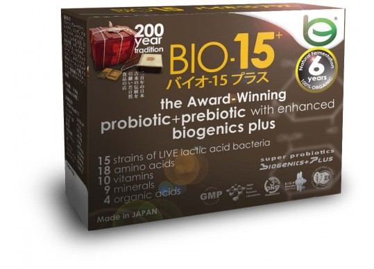 BIOe Online's BIO-15 synbiotic supplement will soon be available in U.S., China