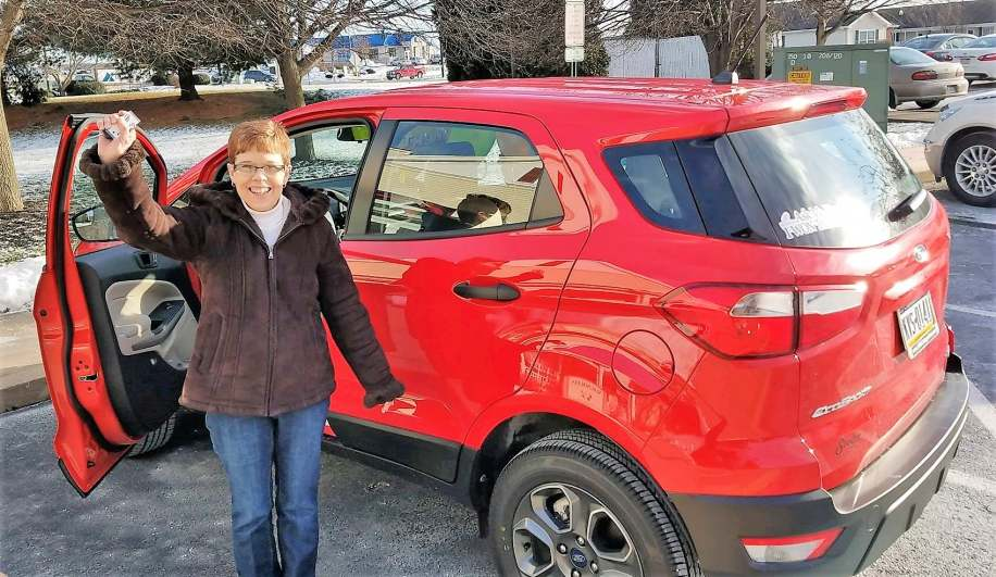 Lavonda Patterson, Magnolias of Chambersburg, won a car in 2019.