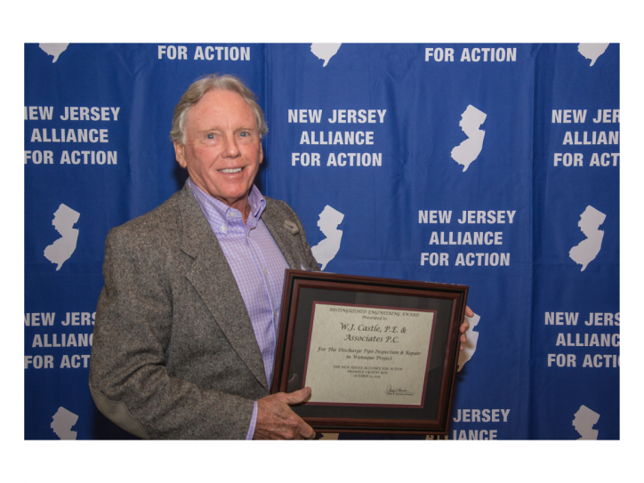 Bill Castle Holding Distinguished Engineering Award 2019