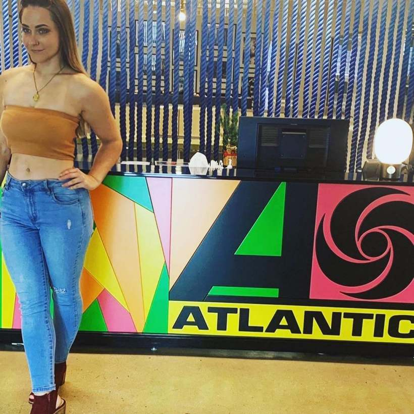 Danica Hera auditions for Atlantic Records all the way from Australia