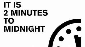 Doomsday Clock graphic