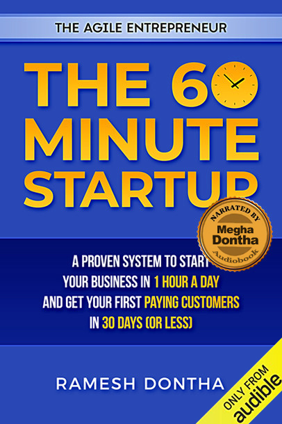 The 60 Minute Startup - Audiobook Narrated by Megha Dontha