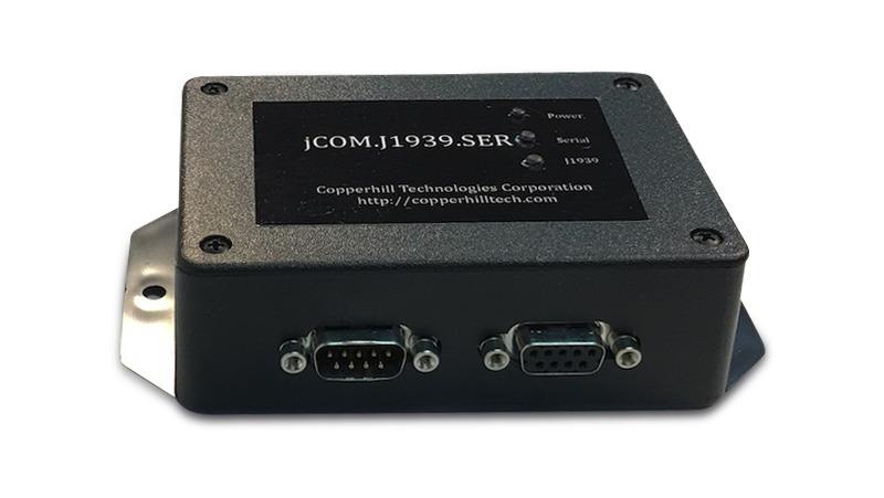SAE J1939 to RS232 & USB Gateway
