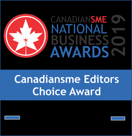 CanadianSME Business Editors Choice Award 2019 - Maven Collective Marketing
