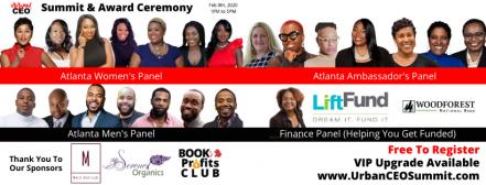 Panelists for Atlanta Urban CEO Summit