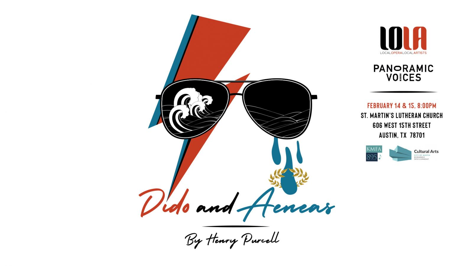 Dido and Aeneas presented by LOLA Austin & Panoramic Voices