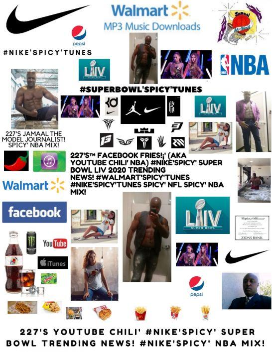 227's™ YouTube Chili' Shakira & J Lo's Pepsi SB Halftime Show #NIKE'Spicy' NBA