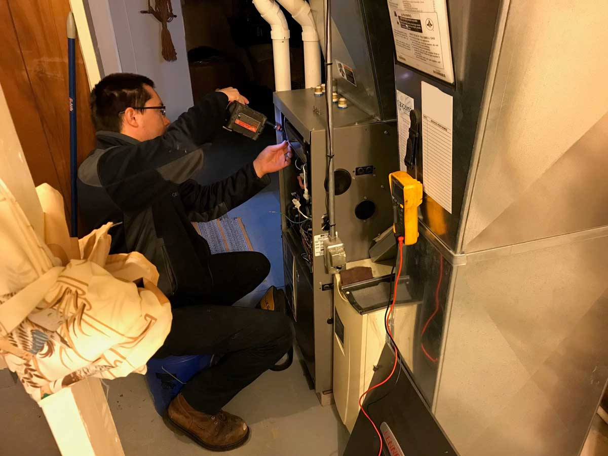 Robinson Heating & Cooling furnace maintenance