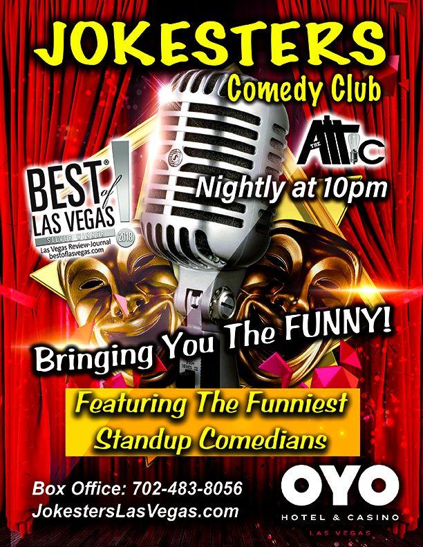 Jokesters Comedy Club Begins Nightly Residency At OYO Hotel & Casino