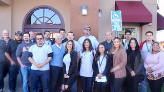 Red Brennan Group Staff with Nadia Renner, Candidate for 5th District Supervisor