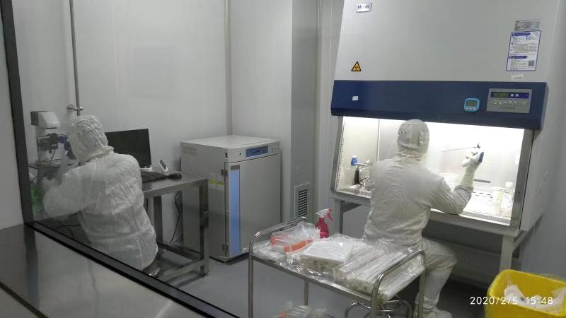 Re-Stem Biotech GMP facilities at work