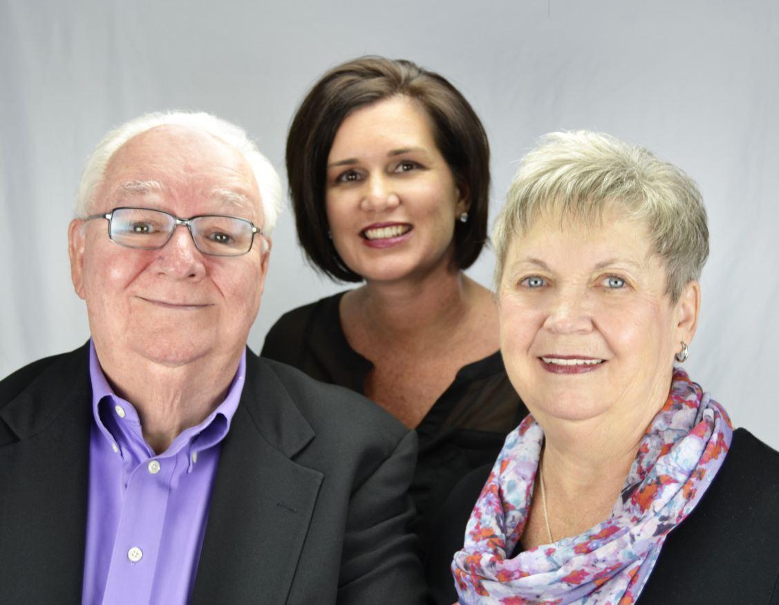 Joe Holleran, Lisa Bouck and Virginia Holleran
