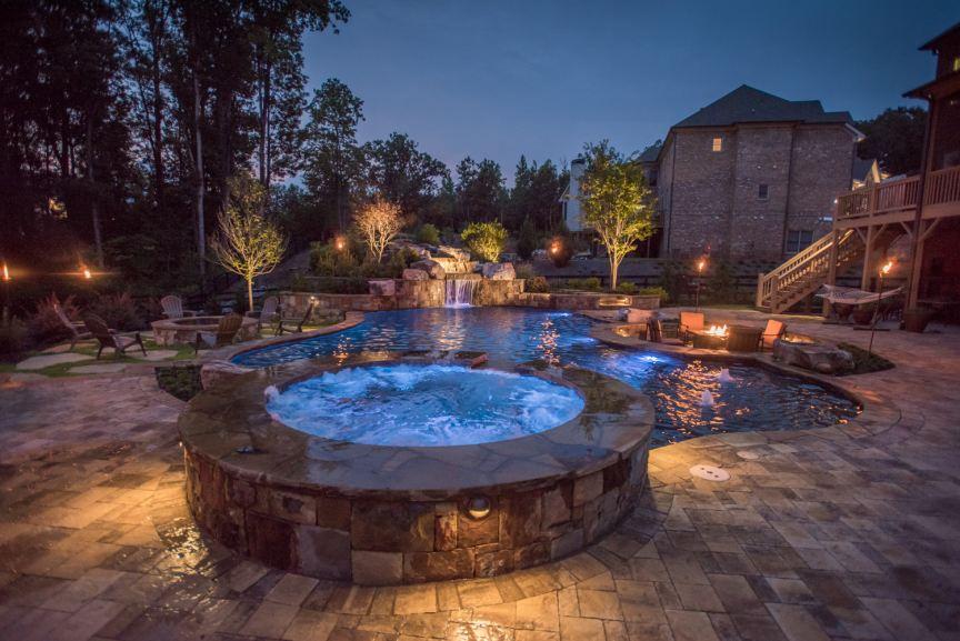 Georgia Classic Pool - Custom Pool Builder