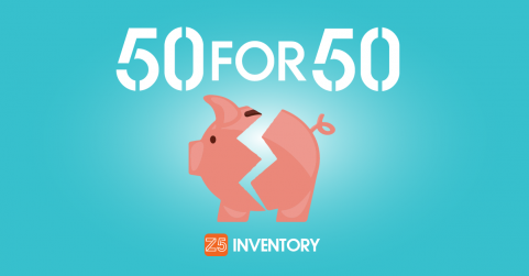 Announcing Z5 Inventory's 50 For 50 Program.