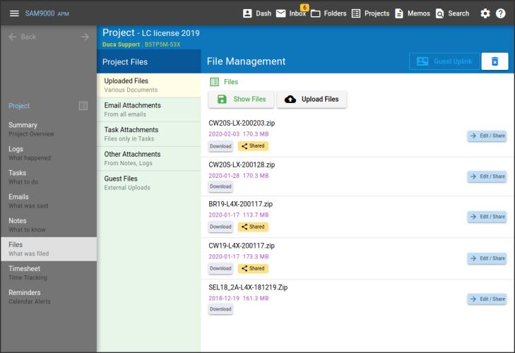 Sam9000 Agile Document Management 2002131057