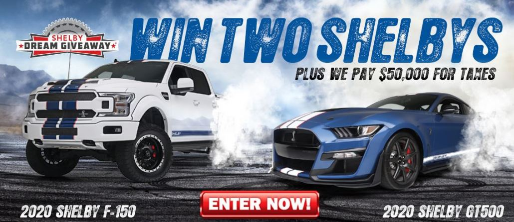 The Shelby Dream Giveaway Grand Prize!