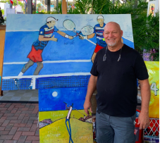 Artist and Delray Beach resident William DeBilzan