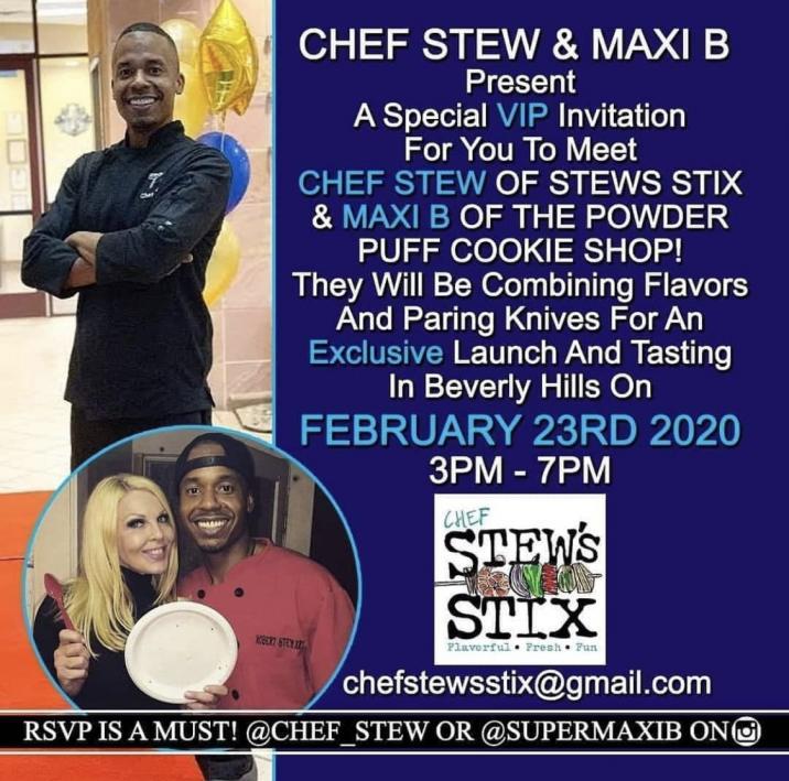 Chef Stew x Maxi B Tasting