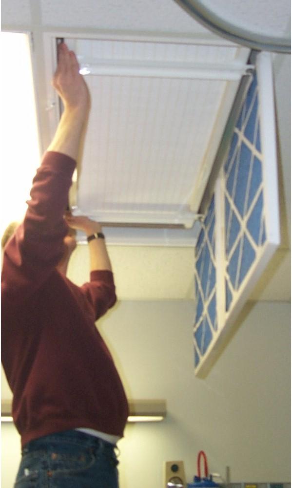 Aeromed Ceiling Mount Hepa Air Purifier