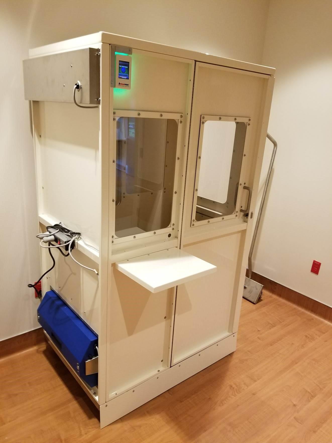 Aeromed Sputum Booth