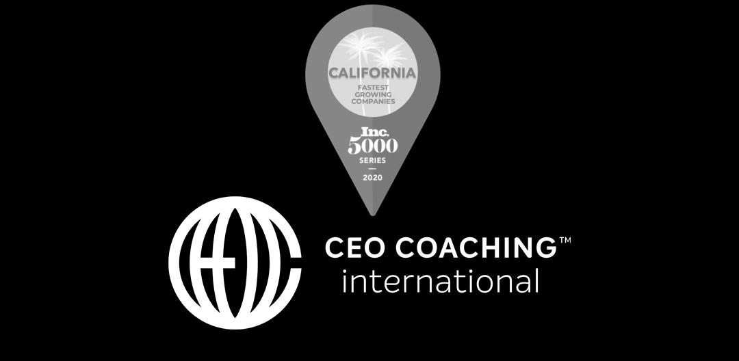 CEO Coaching International in Inc 5000 California
